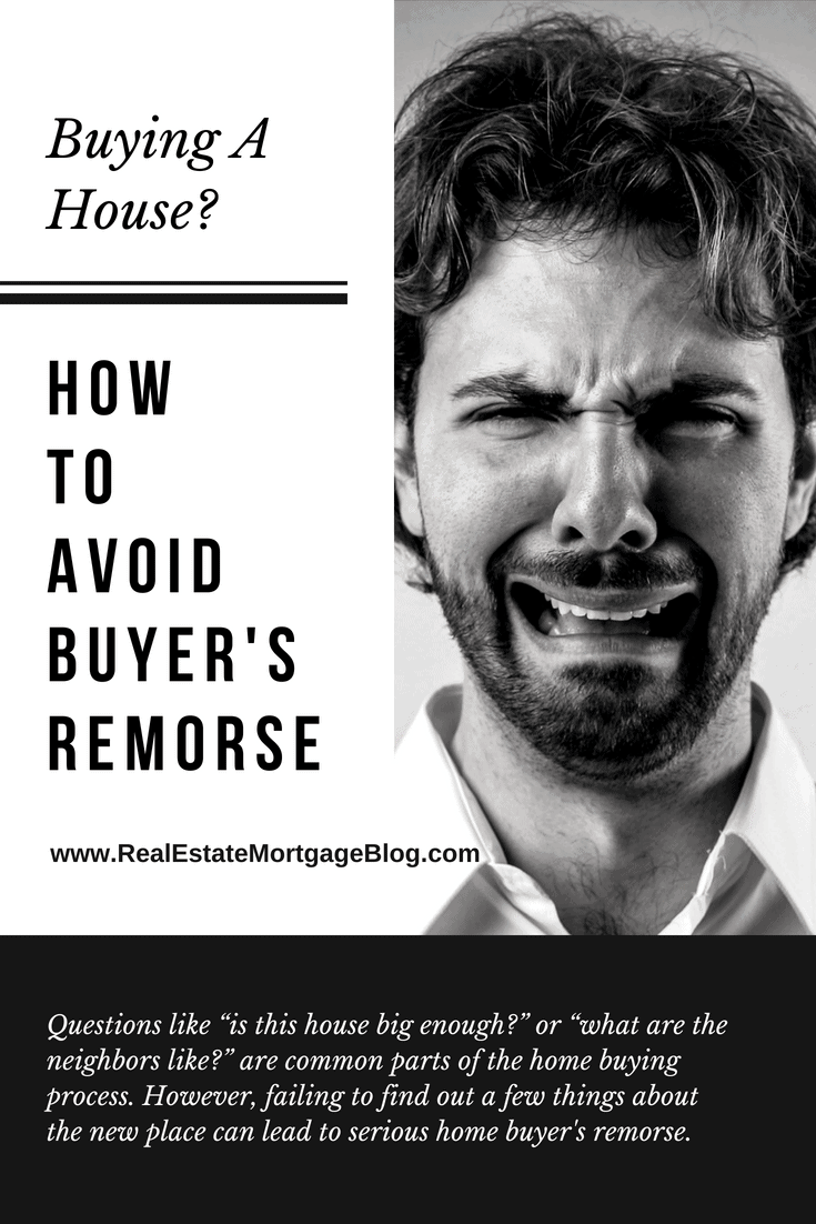 How To Avoid Buyer's Remorse After Buying a House